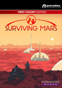 Packaging of Surviving Mars First Colony Edition [PC / Mac]