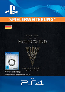 Verpackung von The Elder Scrolls Online: Morrowind Collectors Edition Upgrade [PS4]