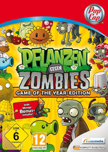 pflanzen gegen zombies game of the year edition pc. Black Bedroom Furniture Sets. Home Design Ideas