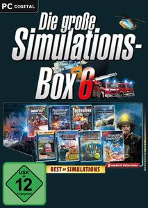 Verpackung von Die große Simulations-Box 6 (Best of Simulations) [PC]