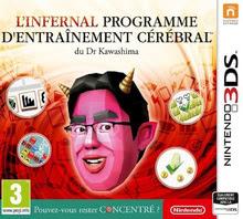 Emballage de L'infernal programme d'entraînement cérébral du Dr Kawashima: Pouvez-vous rester concentré ? [3DS]