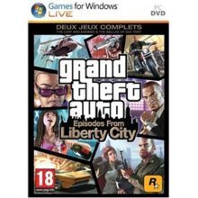 Emballage de Grand Theft Auto Episodes from Liberty City [PC]