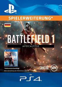 Verpackung von Battlefield 1 Apocalypse - deutsches PSN-Konto [PS4]
