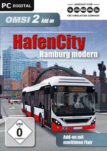 Verpackung von OMSI 2 Add-On HafenCity - Hamburg modern [PC]