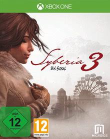 Verpackung von Syberia 3 [Xbox One]