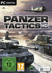 Packaging of Panzer Tactics HD [PC]