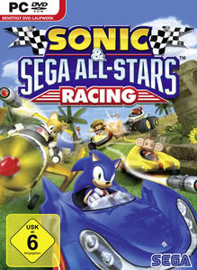 Verpackung von Sonic and SEGA All-Stars Racing [PC]