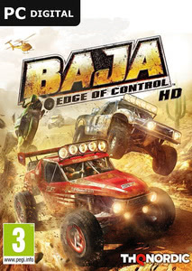 Packaging of Baja: Edge of Control [PC]