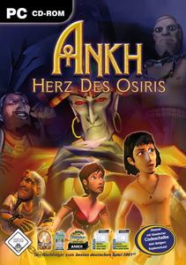 Verpackung von ANKH Herz des Osiris [PC]