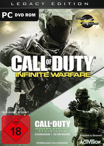 Verpackung von Call of Duty: Infinite Warfare Legacy Edition [PC]