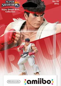 Verpackung von amiibo Smash Ryu #56 [Wii U / 3DS]