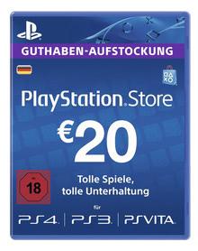 Verpackung von PlayStation Network Card 20 Euro [PS4]