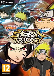 Packaging of Naruto Shippuden Ultimate Ninja STORM Trilogy [PC]