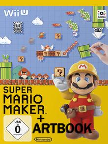 Verpackung von Super Mario Maker + Artbook [Wii U]