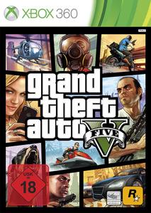 Verpackung von Grand Theft Auto V [Xbox 360]