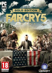 Packaging of Far Cry 5 Gold Edition [PC]