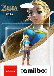 Verpackung von amiibo - The Legend of Zelda Collection Zelda (Breath of the Wild) [Wii U / 3DS / Switch]