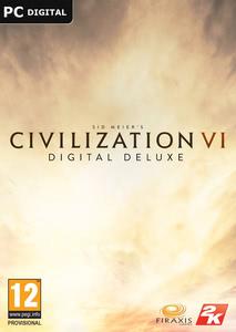 Packaging of Sid Meier's Civilization VI Digital Deluxe [Mac]
