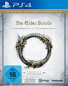 Verpackung von The Elder Scrolls Online: Tamriel Unlimited [PS4]