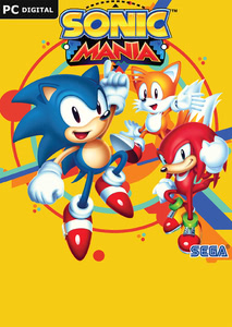 Packaging of Sonic Mania [PC]