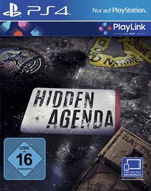 Verpackung von Hidden Agenda (PlayLink) [PS4]