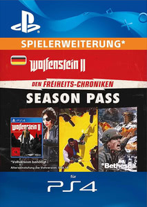 Verpackung von Wolfenstein II: The New Colossus - Freedom Chronicles Season Pass [PS4]