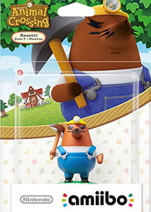 Verpackung von amiibo Animal Crossing Resetti [Wii U / 3DS]