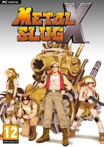 Packaging of Metal Slug X [PC]