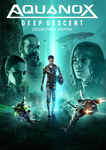 Verpackung von Aquanox Deep Descent Digital Collectors Edition [PC]