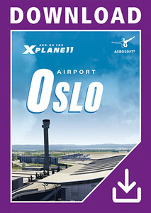 Packaging of X-Plane 11 Airport Oslo XP [PC / Mac]