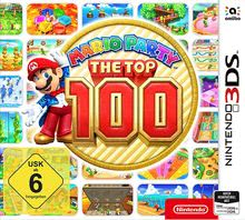Verpackung von Mario Party: The Top 100 [3DS]