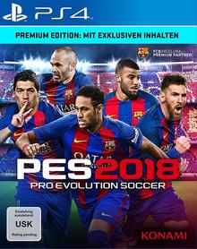 Verpackung von Pro Evolution Soccer 2018 Premium Edition [PS4]