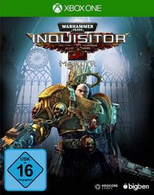 Verpackung von Warhammer 40.000 Inquisitor Martyr [Xbox One]