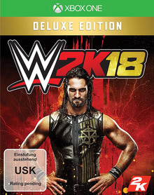 Verpackung von WWE 2K18 Deluxe Edition [Xbox One]