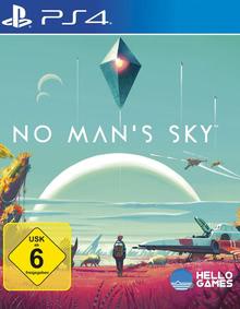 Verpackung von No Man's Sky inkl. Vorbesteller Bonus [PS4]