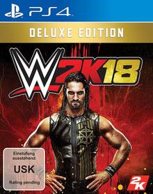 Verpackung von WWE 2K18 Deluxe Edition [PS4]