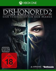 Verpackung von Dishonored 2: Das Vermächtnis der Maske [Xbox One]