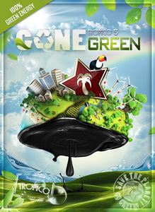 Packaging of Tropico 5 Gone Green [PC]