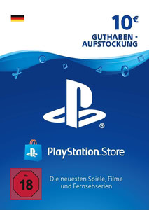 Verpackung von PlayStation Network Code 10 Euro [PS3 / PS4]