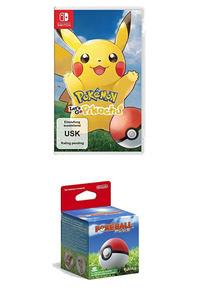 Verpackung von Pokémon Let's Go, Pikachu!+ Pokéball Plus [Switch]