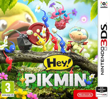 Packaging of Hey! PIKMIN [3DS]