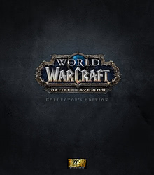 Verpackung von World of WarCraft Battle for Azeroth Collector's Edition [PC]