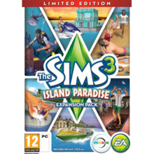 Packaging of The Sims 3 Island Paradise Limited Edition [PC]