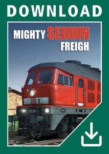 Packaging of Train Simulator 2018 Mighty Seddin Freight [PC]