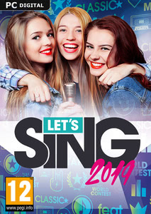 Packaging of Let's Sing 2019 [PC]