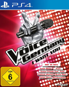 Verpackung von The Voice of Germany - I want you [PS4]