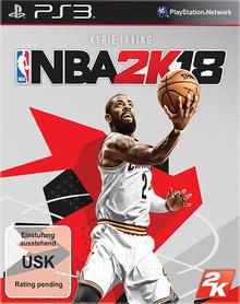 Verpackung von NBA 2K18 DayOne Edition [PS3]