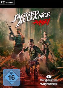 Verpackung von Jagged Alliance Rage [PC]