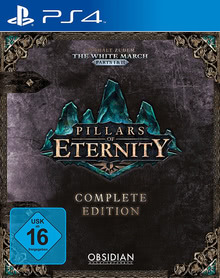 Verpackung von Pillars of Eternity - Complete Edition [PS4]