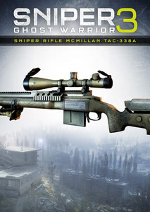 Packaging of Sniper Ghost Warrior 3 Sniper Riffle McMillan TAC-338A [PC]